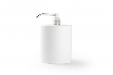 Flacon distributeur rechargeable blanc (900 ml)